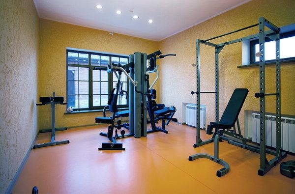 спортзал в частном доме